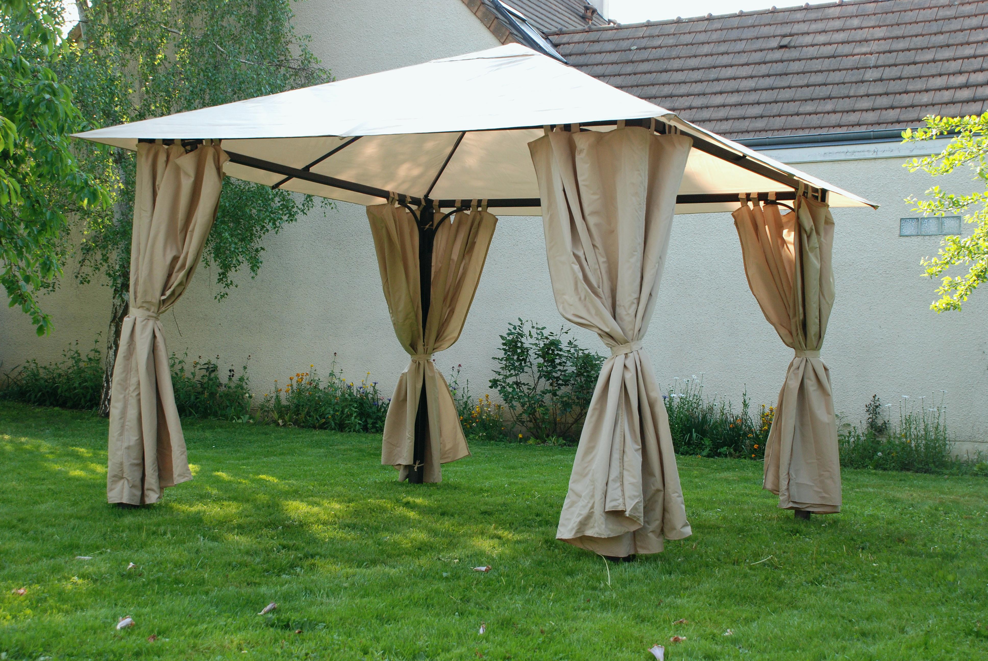 Tente De Reception Brico Depot L Gant Tonnelle Jardin à Tonnelle De Jardin Castorama