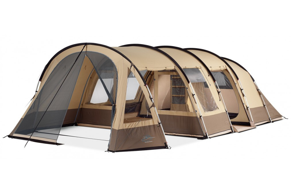 Tente Paradise Beach 460 Rsc Bardani encequiconcerne Tente 6 Places 3 Chambres