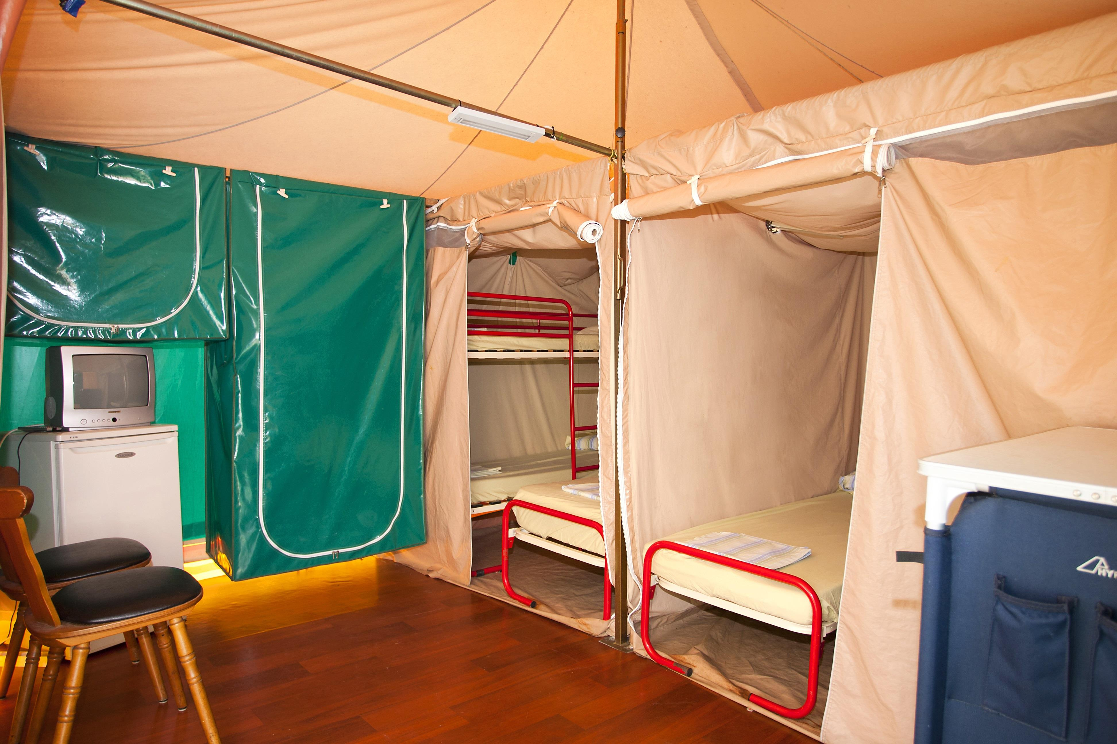 Tente Trigano - 2 Chambres serapportantà Tente 6 Places 3 Chambres