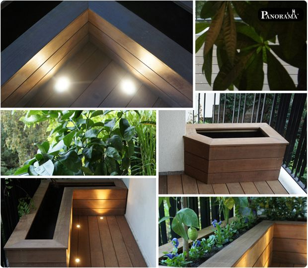 Terrasse Bois Exotique Ipe Paris 16 Eclairage Spot encequiconcerne Spot Terrasse Piscine