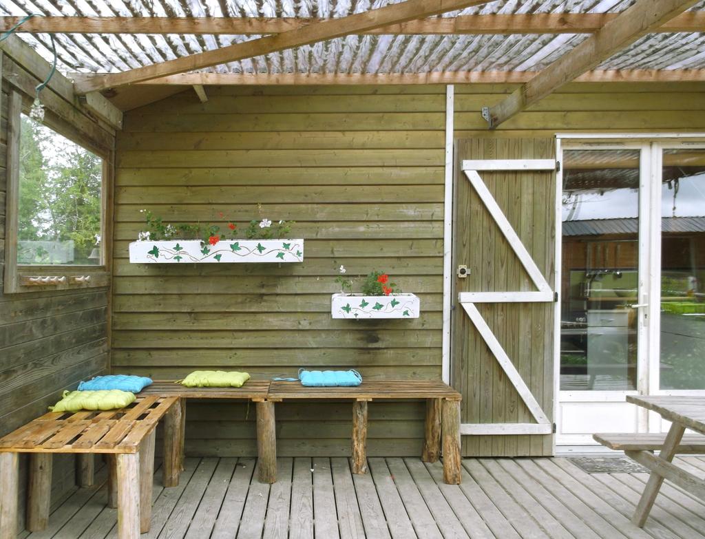 Terrasse Couverte Autorisation concernant Terrasse Couverte Bois