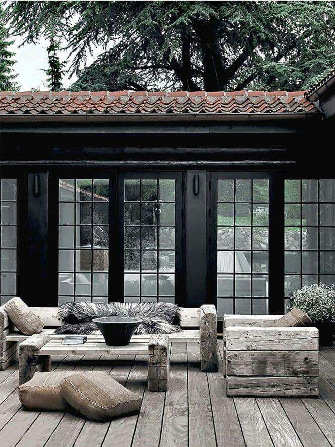 Terrasse D Hiver | Amenagement Cour, Idées Jardin pour Idées Terrasses Extérieures