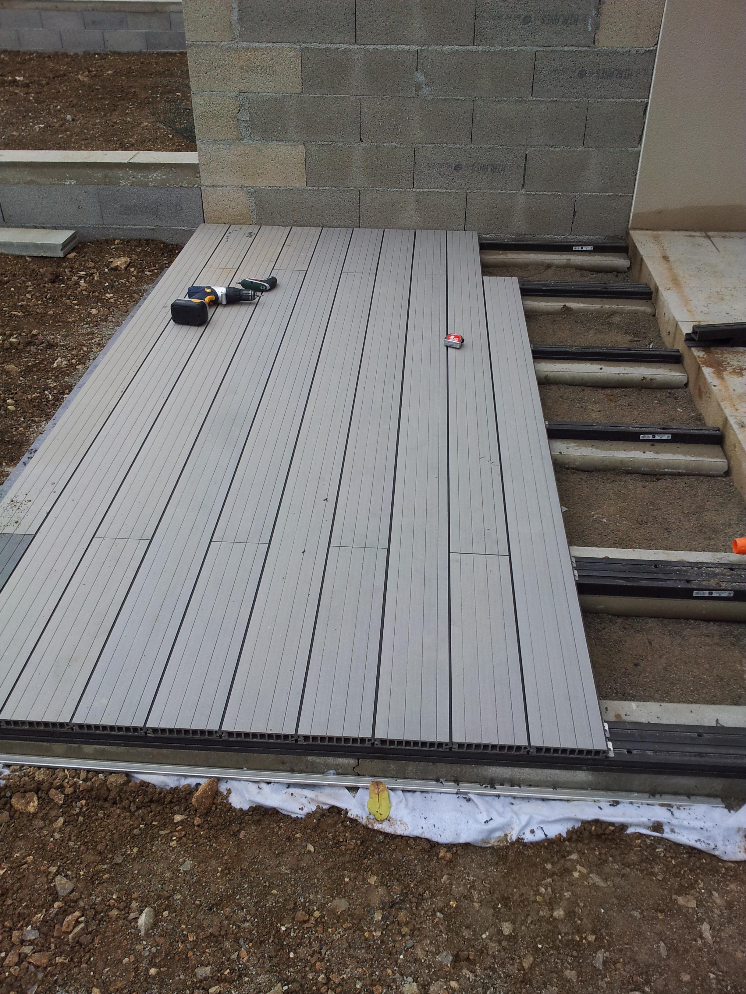 Terrasse En Composite Leroy Merlin - Nos Conseils encequiconcerne Leroy Merlin Plot Terrasse