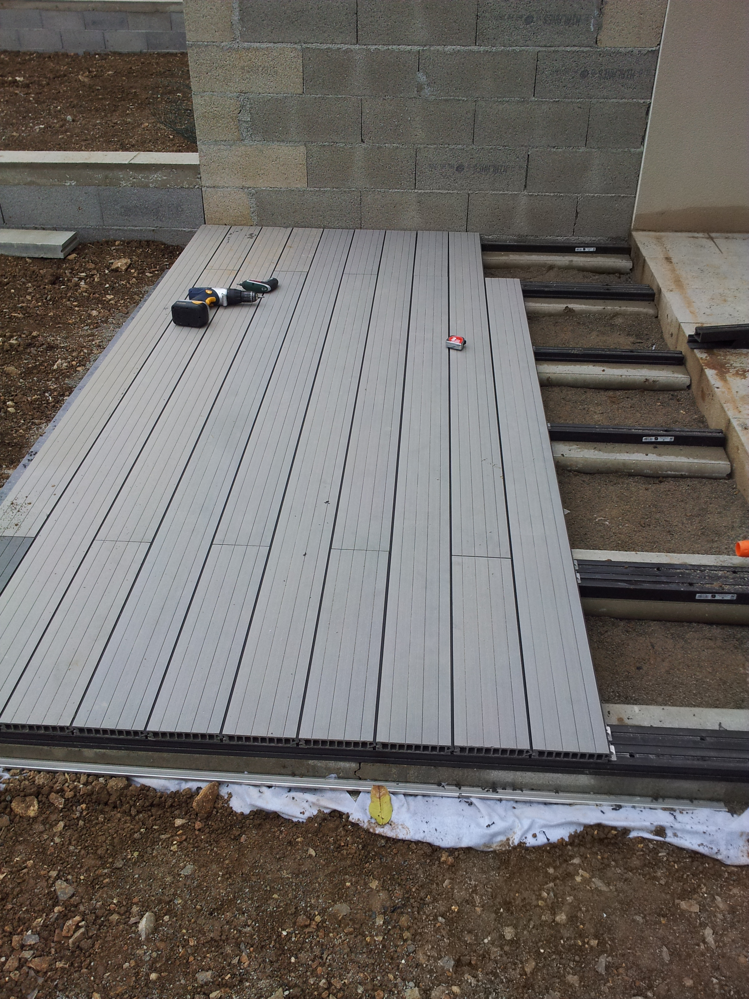 Terrasse En Composite Leroy Merlin - Nos Conseils intérieur Leroy Merlin Terrasse Plot