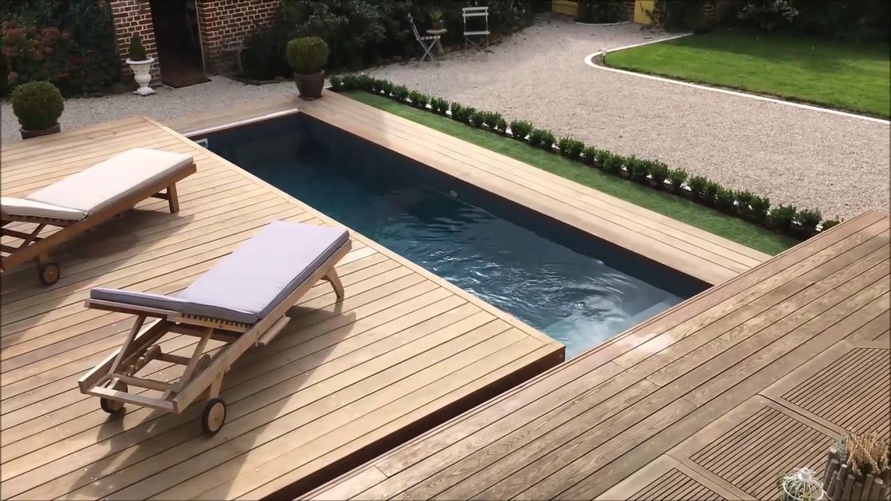 Terrasse Mobile Coulissante De Piscine : Un Rolling-Deck serapportantà Piscine Sur Terrasse En Hauteur