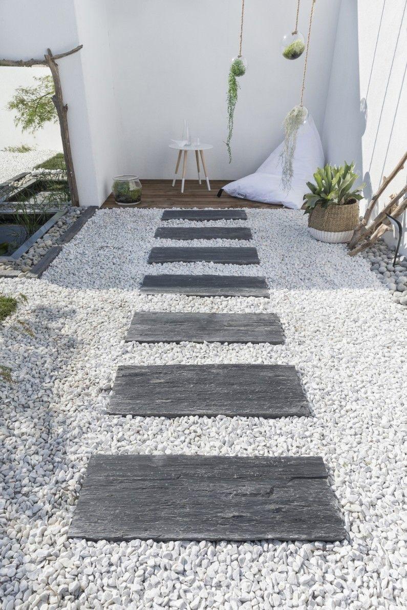 Terrasse Naturel / Authentique | Allée De Jardin, Déco concernant Idées Terrasses Extérieures