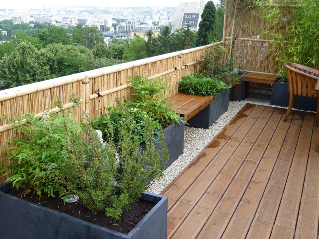 Terrasse Style Jardin Japonais - Veranda-Styledevie.fr intérieur Abri De Jardin Style Japonais