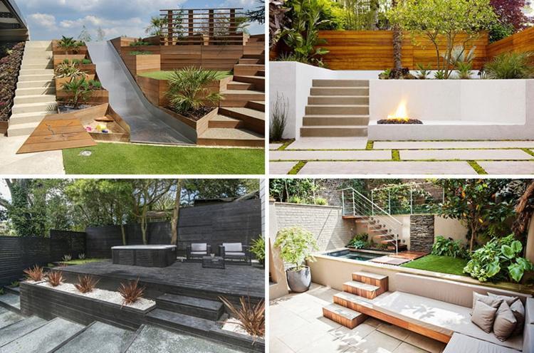 Terrasse Sur Terrain En Pente En 10 Idées D'Aménagement encequiconcerne Pente Toiture Terrasse
