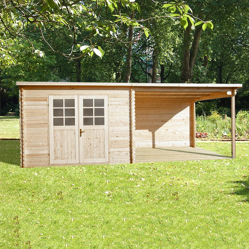 Terrasse Toit Plat | Terrasse En Bois serapportantà Abrie De Jardin