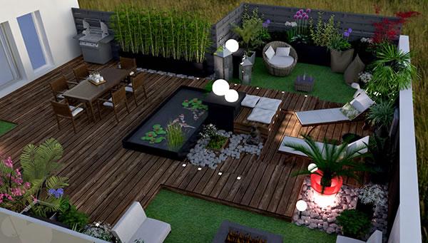 Terrasse Zen - Mailleraye.fr Jardin avec Déco Jardin Zen Pas Cher