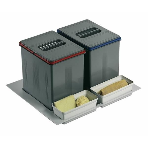 Test / Avis Poubelle Intégrée Sous Evier Et Installer encequiconcerne Installer Lave Vaisselle Sous Un Evier Branchement