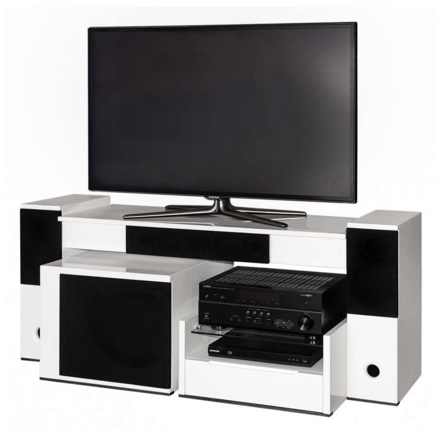 Tevica T500 Meuble Tv Enceintes Integrees Destine Meuble Tv Home Cinema Integre Agencecormierdelauniere Com Agencecormierdelauniere Com
