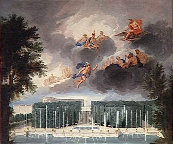 The Fountains Of Versailles In The Time Of Louis Xiv à Les Jardins De Neptune