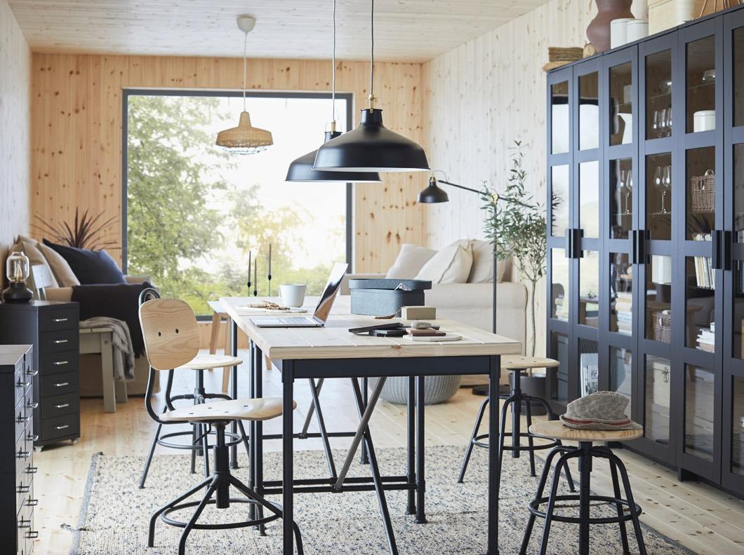 Travailler Et Manger À La Maison - Ikea à Tables Salle À Manger Ikea