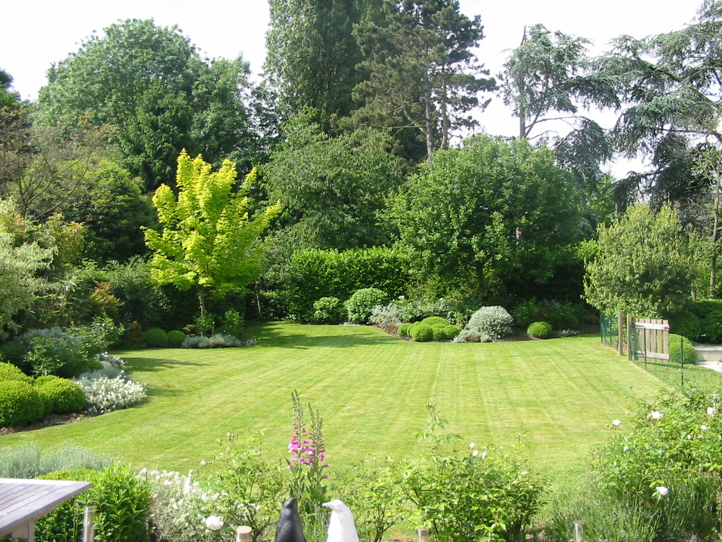 Travaux D'extérieur   Paysage Intérieur destiné Exemple D Aménagement De Jardin