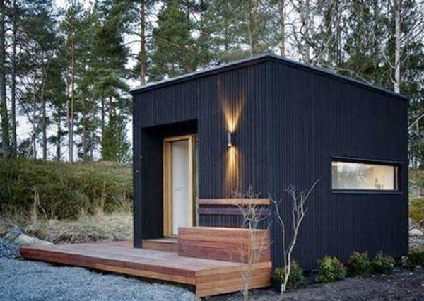 Un Abri De Jardin – Design Differents – Archzine.fr à Abri De Jardin Habitable Design