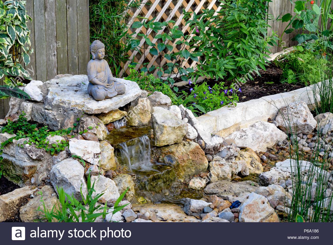 Un Do-It-Yourself Disparaître Et Fontaine Jardin Zen serapportantà Fontaine Jardin Japonais