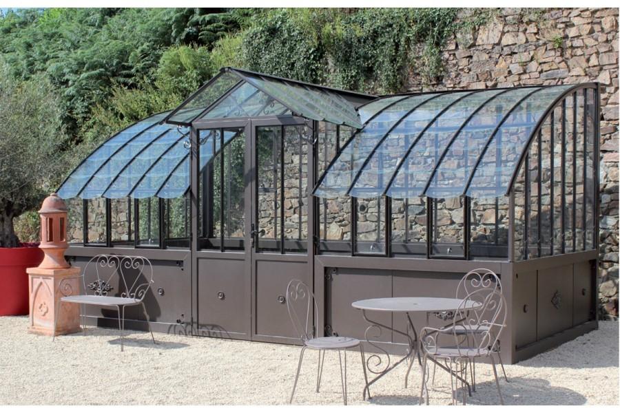 Un Jardin D'hiver Pour Agrandir Votre Maison ? - If Verso destiné Serre De Jardin Adossée