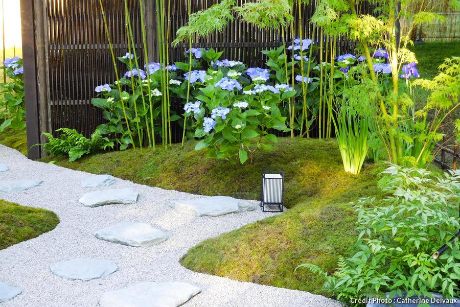 Un Jardin Zen Inspiré Des Temples Japonais – Détente Jardin destiné Petit Jardin Zen
