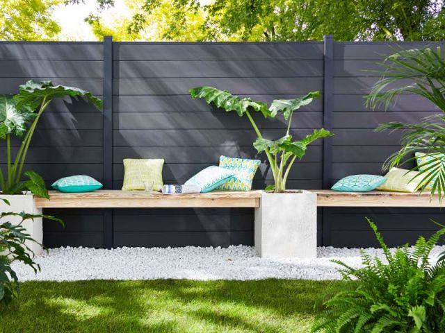 Une Clotûre Esthétique Pour Délimiter Mon Jardin avec Delimitation Jardin