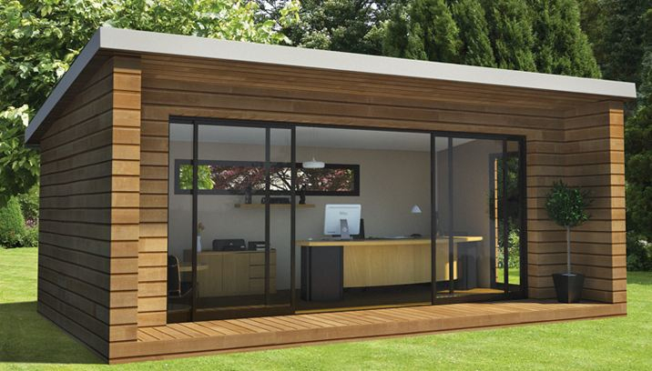 Une Pièce En Plus Ou « Ma Cabane Au Fond Du Jardin concernant Abri De Jardin Design