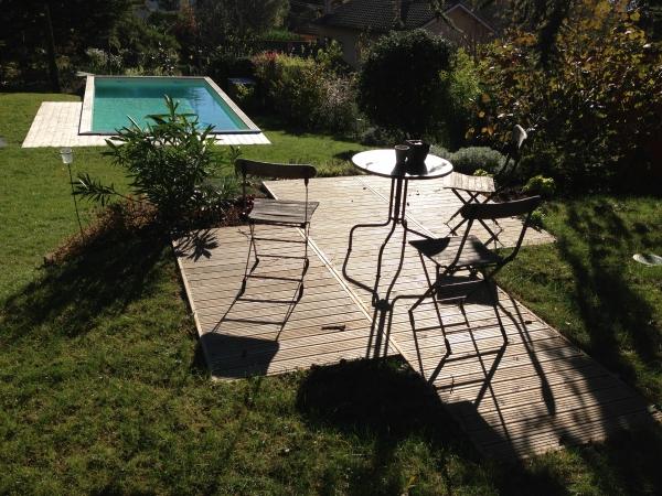 Une Piscine Dans Un Jardin En Pente ? C'est Possible à Amenagement Piscine Terrain En Pente