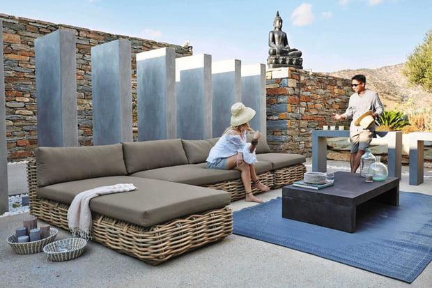 Une Terrasse Au Naturel dedans Salon De Jardin Maison Du Monde