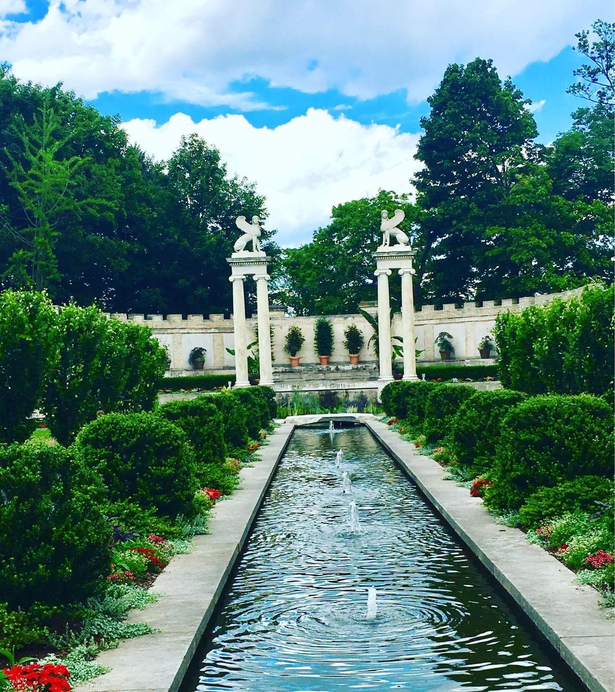 Untermyer Park And Gardens, Yonkers, New York - Untermyer serapportantà Opbouw Tuinhuis Gardenas New York