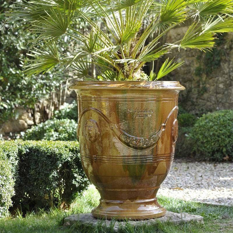 Vase Anduze Traditionnel   Vase Anduze, Poterie Anduze destiné Jarre De Jardin