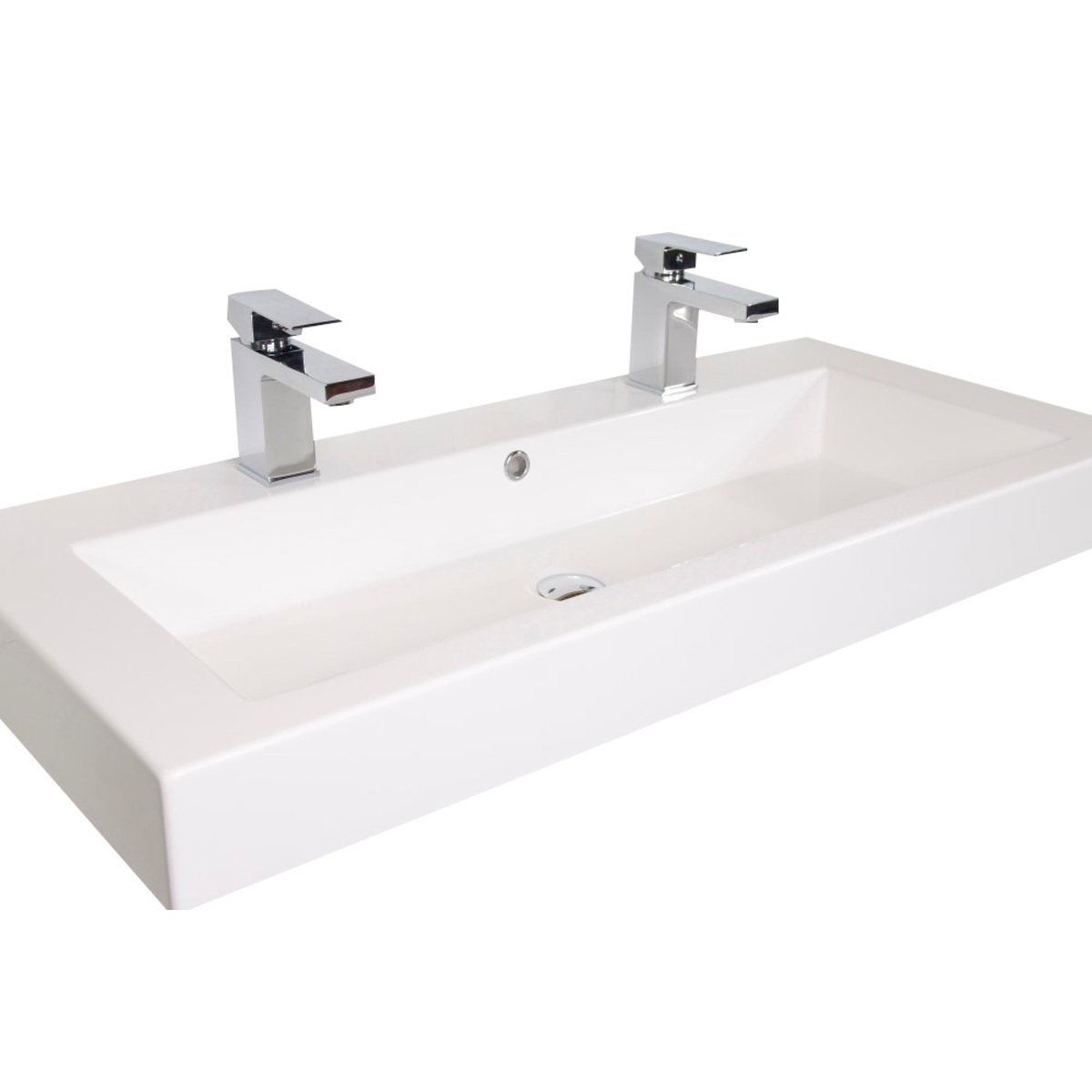 Vasque Avec 2 Robinets | Parawall Site encequiconcerne Vasque 100 Cm 2 Robinets
