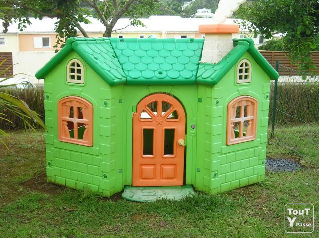 Vends Maison De Jardin Pour Enfant Tb Etat Guadeloupe dedans Maison De Jardin Enfant