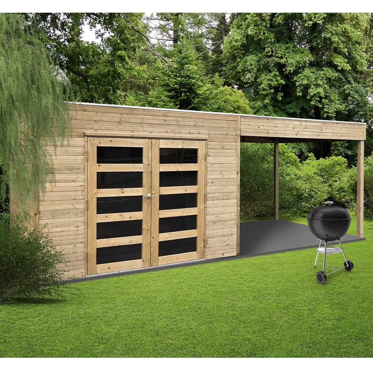 Vente Abri Jardin - Tritoo Maison Et Jardin concernant Auchan Abri De Jardin