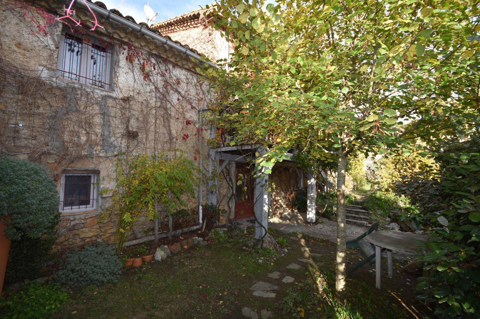Vente Maison De Village En Pierres Avec Jardin | Aude concernant Vente Privée Jardin