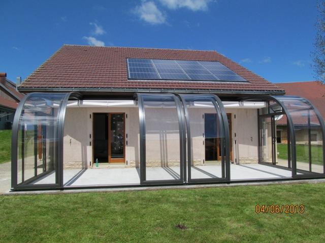 Veranda Telescopique Rétractable - Veranda Et Abri Jardin pour Abri De Terrasse Retractable