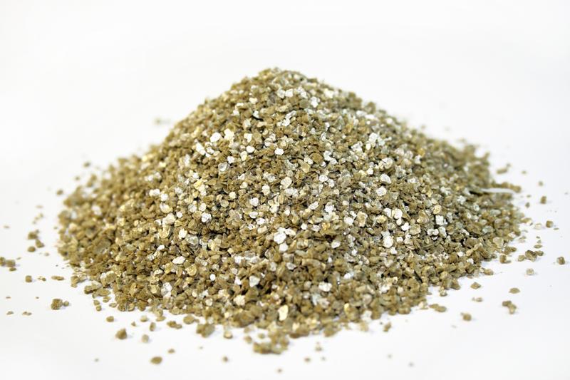 Vermiculita Imagen De Archivo. Imagen De Fondo, Mineral à Vermiculite Jardin