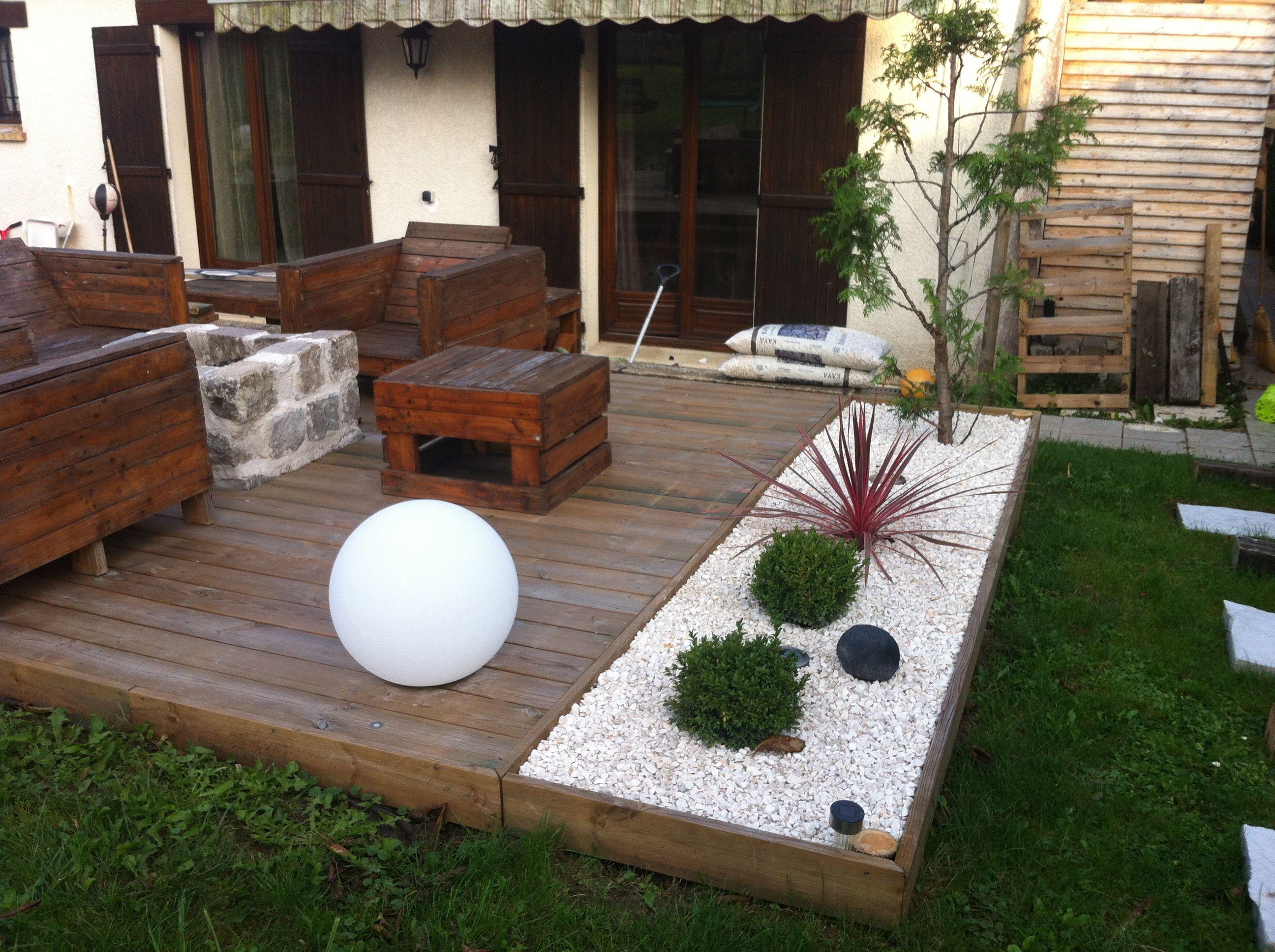 Votre Magazine Pour Le Bricolage Et Le Jardinage pour Aménagement Terrasse Devant Maison
