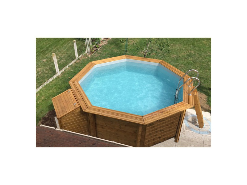 Woodfirst Original, Kit Piscine Bois 562 X 133 Cm avec Piscine Woodfirst