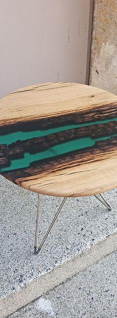 409 Meilleures Images Du Tableau Resine Epoxy   Crystals pour Table Bois Resine