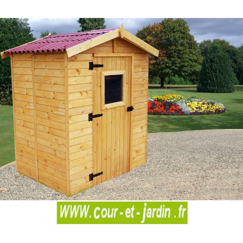Abri Bois Eden 2,5M² - Abris Et Rangements- Cour Et Jardin pour Bricoman Abri De Jardin
