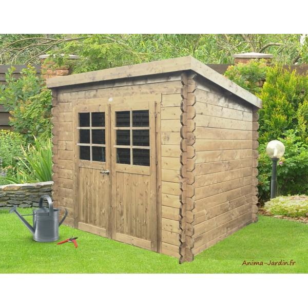 Abri De Jardin En Bois 19Mm, Stendal, 4M², 2 Portes, Solid serapportantà Abri De Jardin En Bois Pas Cher