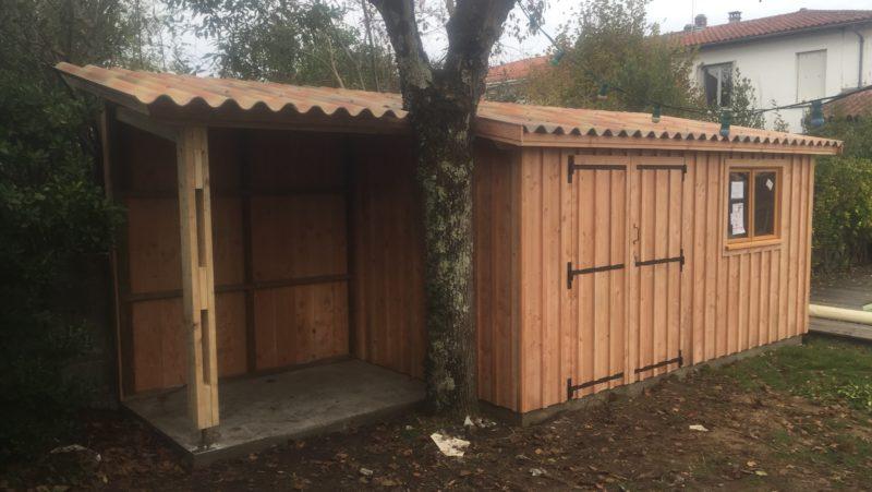 Abri De Jardin En Bois Douglas Fabriqué Sur-Mesure Et tout Abri Aluminium Sur Mesure
