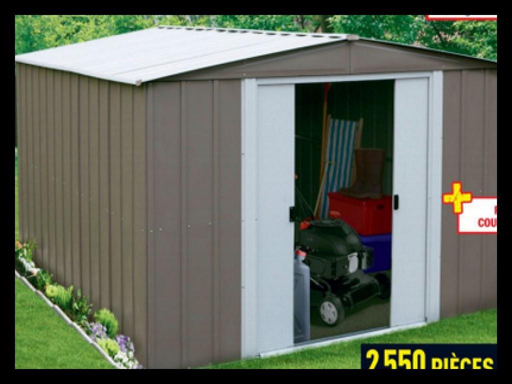 Abri De Jardin Metal Brico Depot Maubeuge pour Abri De Jardin Metal Arrow 5M2