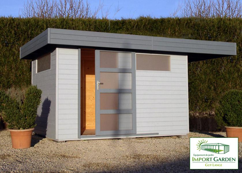 Abri De Jardin Toit Plat Au Design Contemporain | Concept Abri avec Abri De Jardin Design Toit Plat