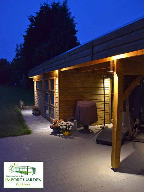 Abri De Jardin Toit Plat Au Design Contemporain | Concept Abri pour Abri De Jardin Design Toit Plat