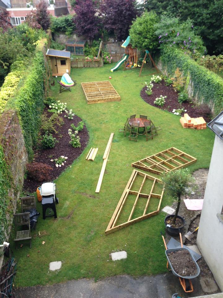 Amenagement Jardin Nouvelle Construction pour Un Jardin En Ville
