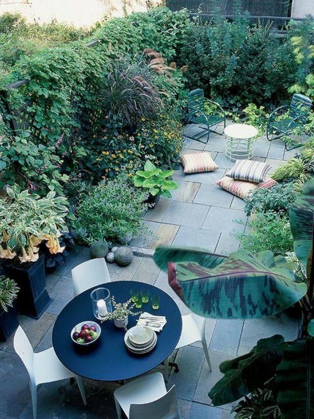 Aménagement Petit Jardin De Ville : 12 Idées Sur Pinterest - Côté Maison dedans Un Jardin En Ville
