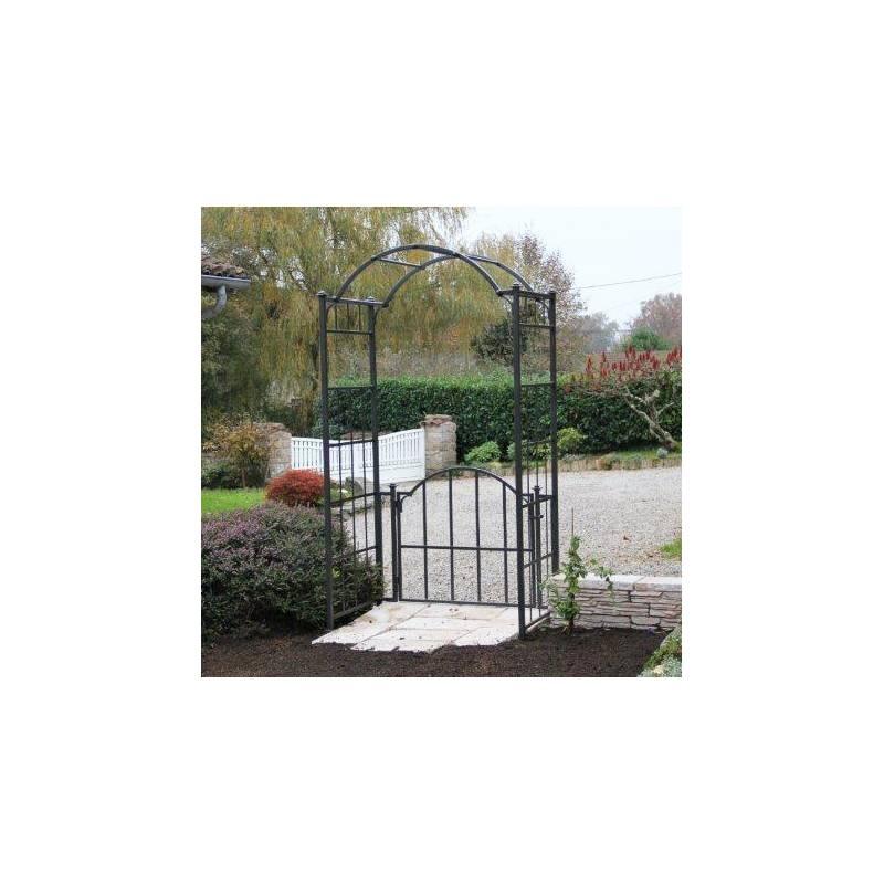 Arche Portillon Classic Garden Portail Arche À Rosiers De concernant Arche Fer Forgé