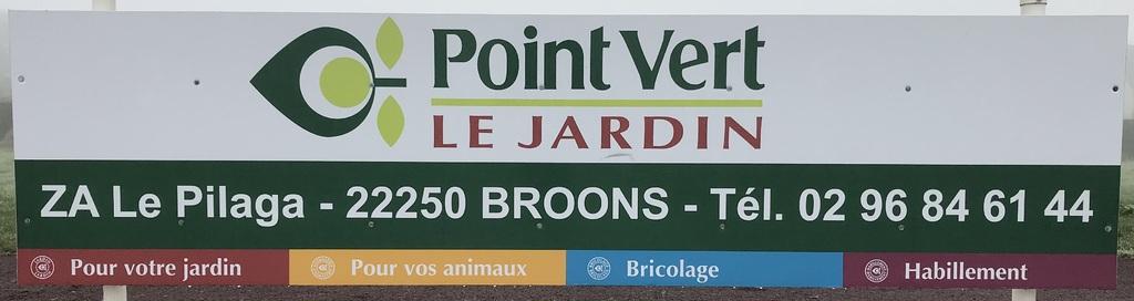 As Broons-Trémeur avec Point Vert Le Jardin