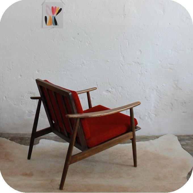C668_Mobilier-Vintage-Fauteuil-Scandinave-Vintage-D destiné Meubles Scandinaves Vintage