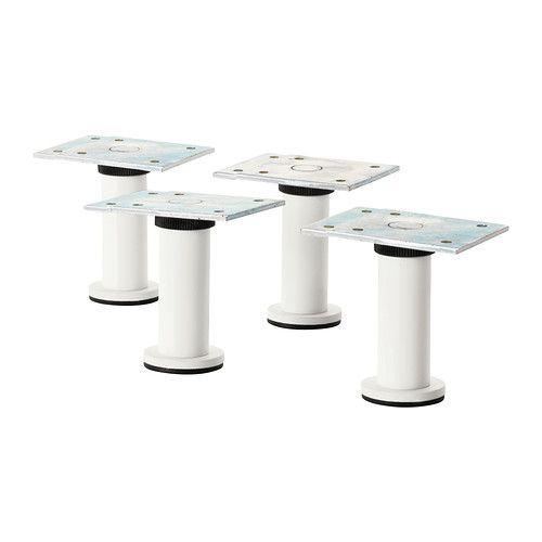Capita Pied - Acier Inoxydable 8 Cm | Ikea, Produtos Ikea encequiconcerne Meuble Acier Ikea